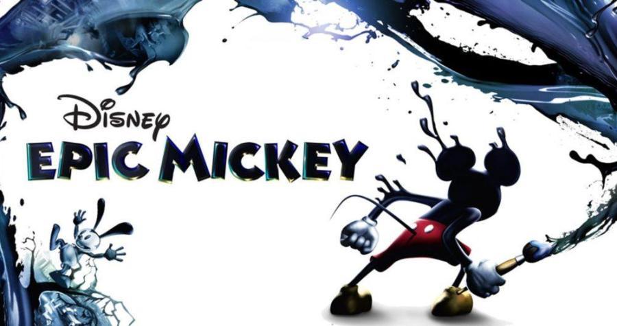 Epic Mickey Nintendo Wii jeu de plateforme aventure Disney