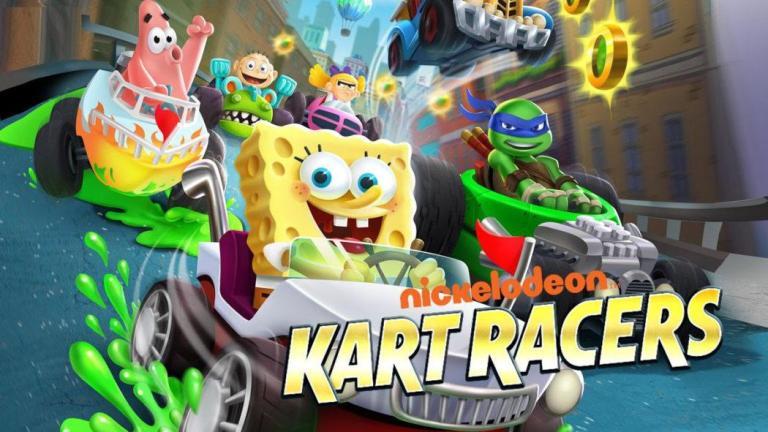 Nickelodeon Kart Racers jeu de course karting Bob l'éponge Tortues Ninja Razmoket Hey Arnold