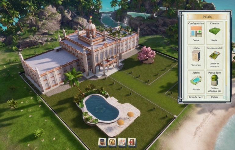 Tropico 6 filtres palais El Presidente Kalypso AK&CO jeu de gestion simulation dictature