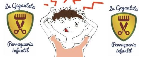 peluqueria infantil la geganteta piojos