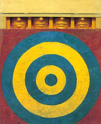 Green Target with four faces - Jasper Johns