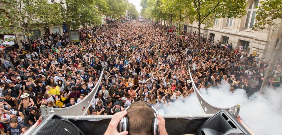 Techno Parade 2015 le 19 Septembre 2015 à Paris