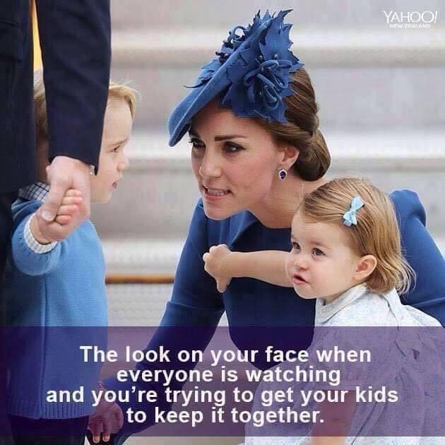 Il Kate Middleton Meme di Facebook descritto da Lavinia di AmicheMamme per L'Agenda di mamma Bea