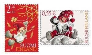 Lettera di Babbo Natale con francobollo consigliato da L'Agenda di mamma Bea