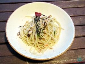 Pasta e fantasia spaghetti alle melanzane e taralli cucinati da L'Agenda di mamma Bea