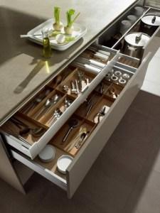 cucina sicura con cassetti descritta da L'Agenda di mamma Bea