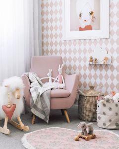 7 stanze multicolore con carta da parati pensate da L'Agenda di mamma Bea