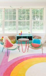 7 stanze multicolore con moquette pensate da L'Agenda di mamma Bea