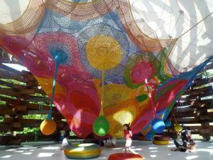 Wood Net Playground è uno de i migliori parchi divertimento per bambini secondo L'Agenda di mamma Bea