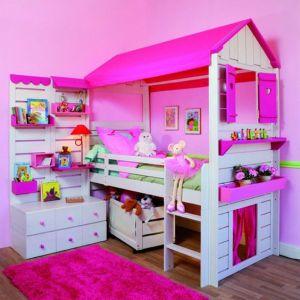 letti a castello a forma di casa delle bambole descritti da L'Agenda di mamma Bea