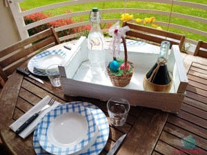 decorare la tavola con un'atmosfera da pic-nic de L'Agenda di mamma Bea