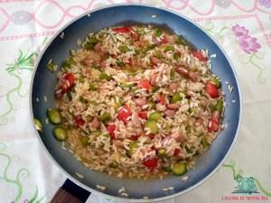 né carne né pesce con il risotto preparato da L'Agenda di mamma Bea