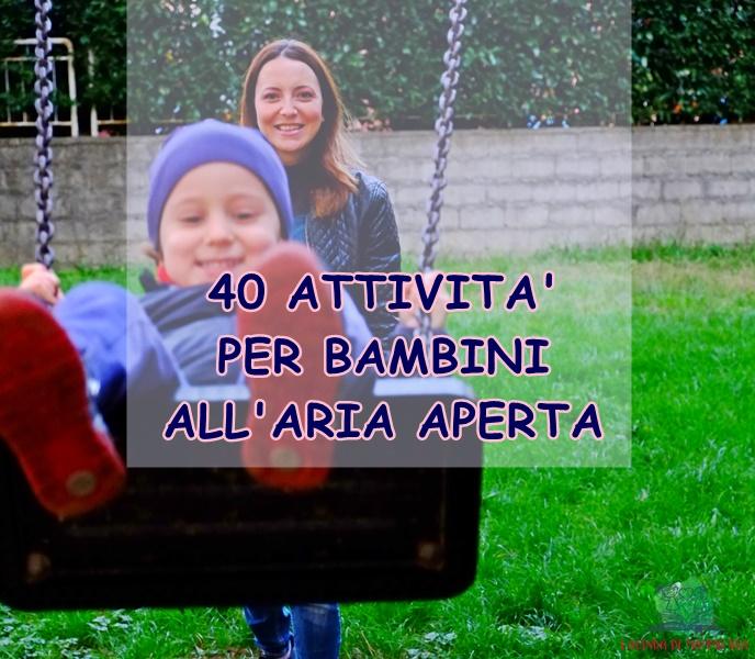 attività per bambini all'aperto su L'Agenda di mamma Bea