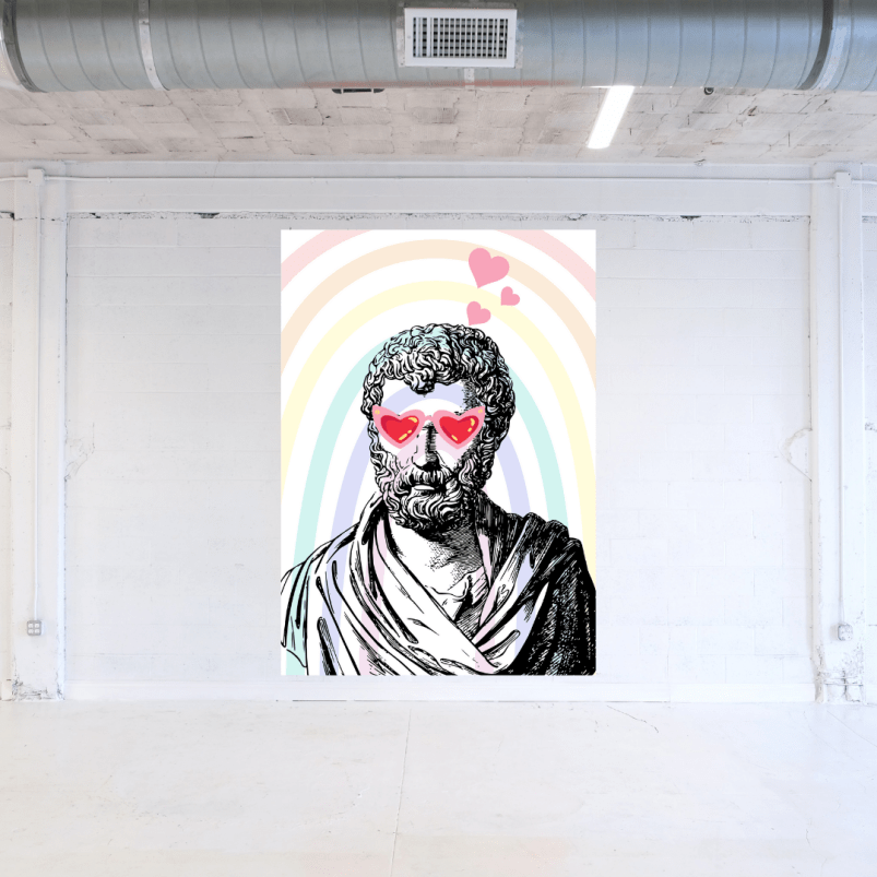 Proud Pride LGBTQ+ Art