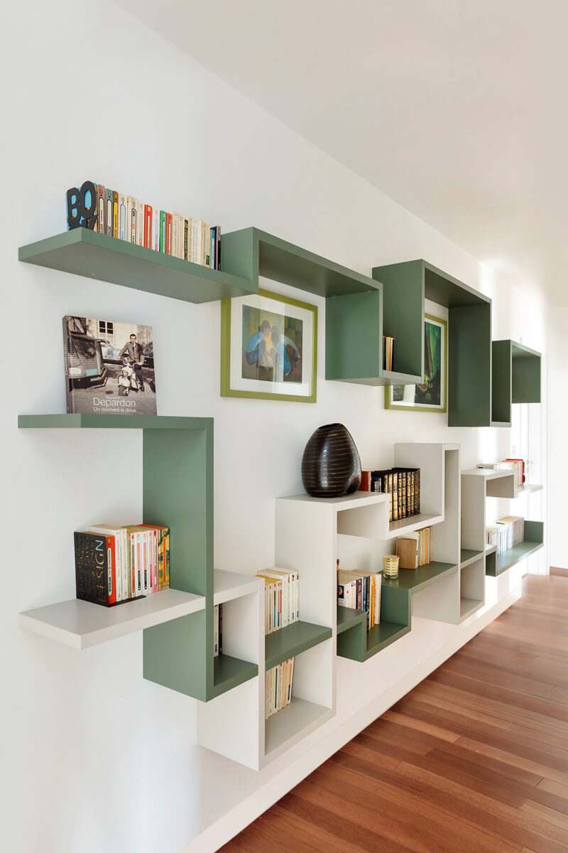 LagoLinea Shelving Wall Shelving For The Living Room LAGO Design