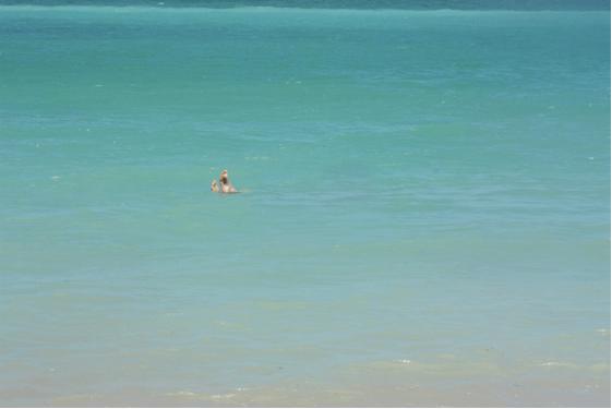 Banho de mar ou de rio?