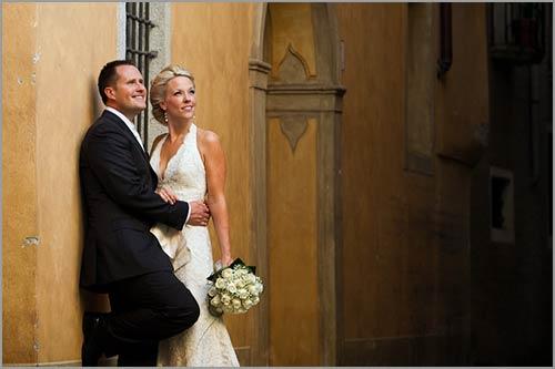 Matrimonio Tema Pizzo : Abito da sposa avorio e matrimonio a tema oro sul lago d orta