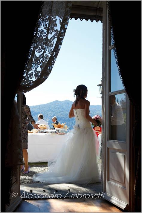 ricevimento matrimonio Miasino Lago d'Orta