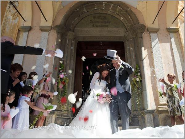 matrimonio chiesa Santa Maria Assunta Orta
