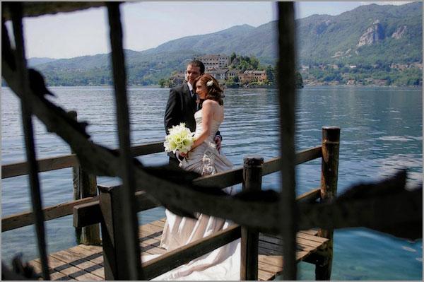 matrimonio Villa Bossi Municipio di Orta