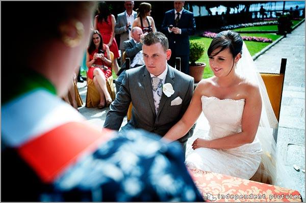 matrimonio civiile Villa Bossi