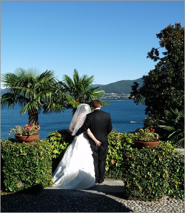 nozze a Villa Margherita lago Maggiore