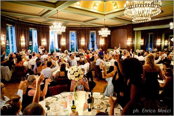 cena matrimonio Grand Hotel Majestic Pallanza