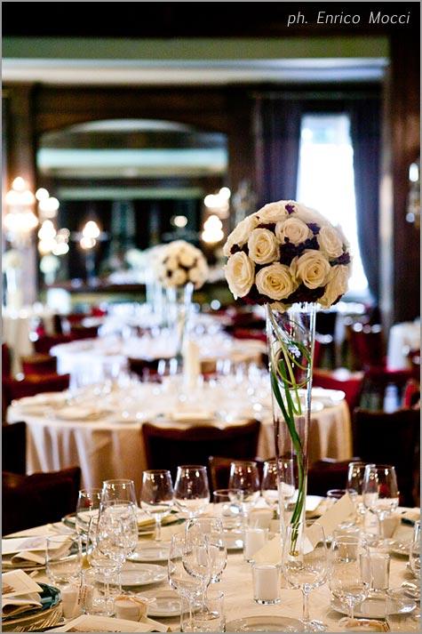 addobbi floreali matrimonio Grand Hotel Majestic Pallanza