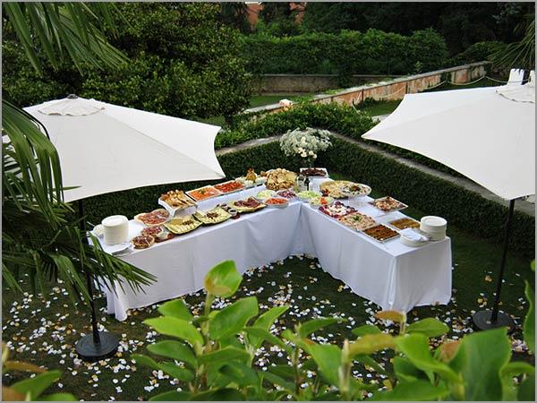 catering matrimonio Villa Margherita lago Maggiore