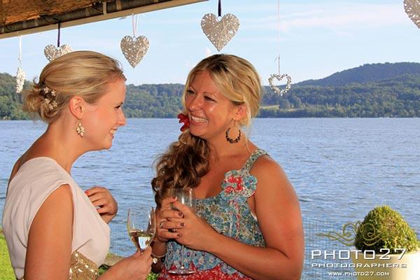 ristorante matrimonio con terrazza sul Lago d'Orta