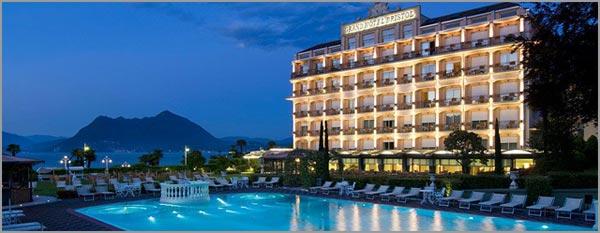 ricevimento matrimonio all'aperto Hotel Bristol Stresa lago Maggiore