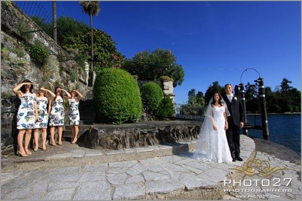 villa Rusconi matrimonio lago Maggiore