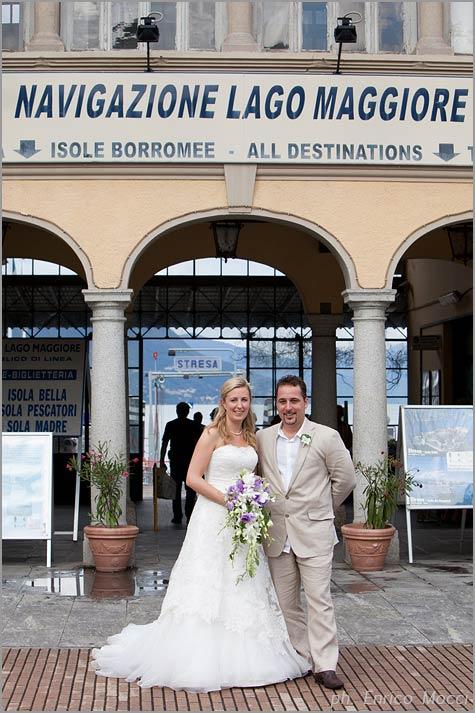 servizio matrimoni Navigazione Lago Maggiore Stresa