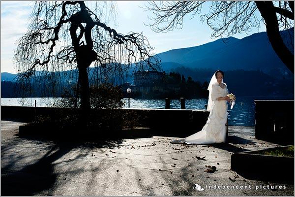 matrimonio invernale Hotel San Rocco lago d'Orta
