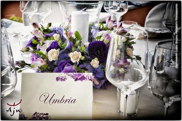fiorista matrimonio Villa Margherita