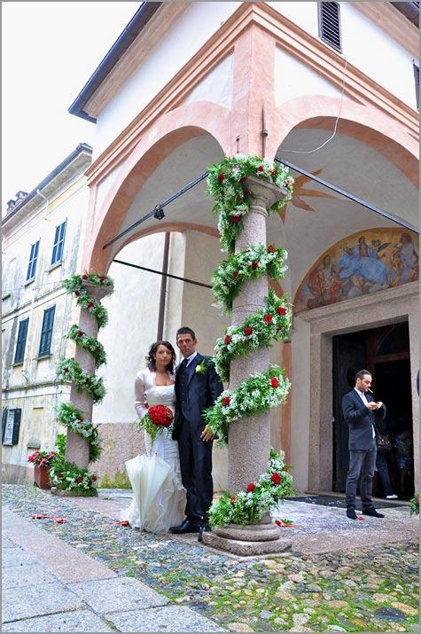 matrimonio chiesa di San Vittore Isola dei Pescatori