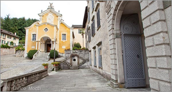 palazzo matrimonio chiesa dell'Assunta Orta