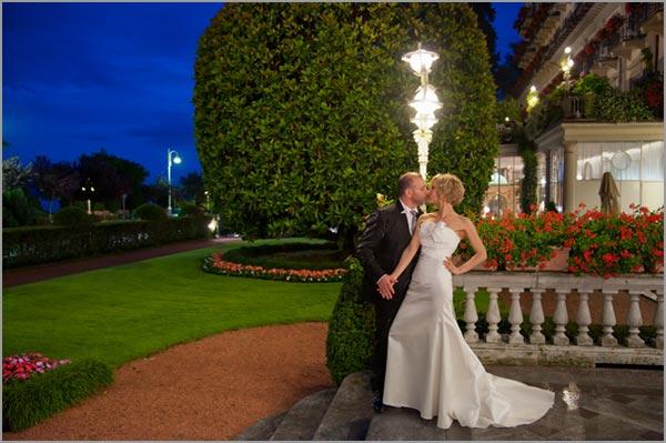 ricevimento di matrimonio al Grand Hotel Borromees di Stresa