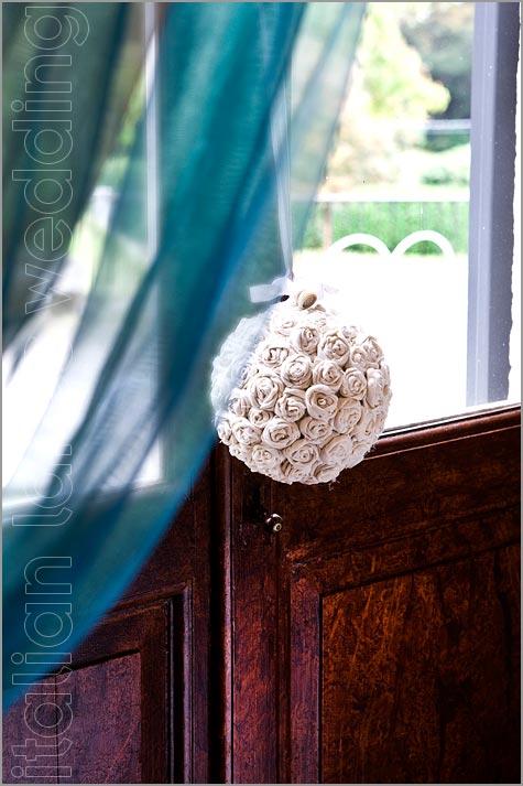 allestimenti floreali a Villa Pestalozza Lago d'Orta