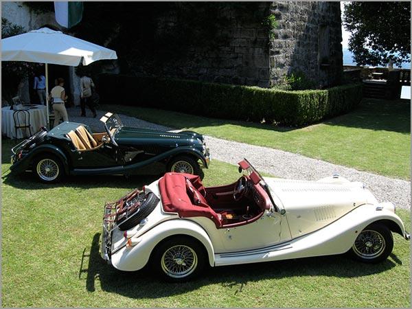 affitto auto degli sposi Morgan