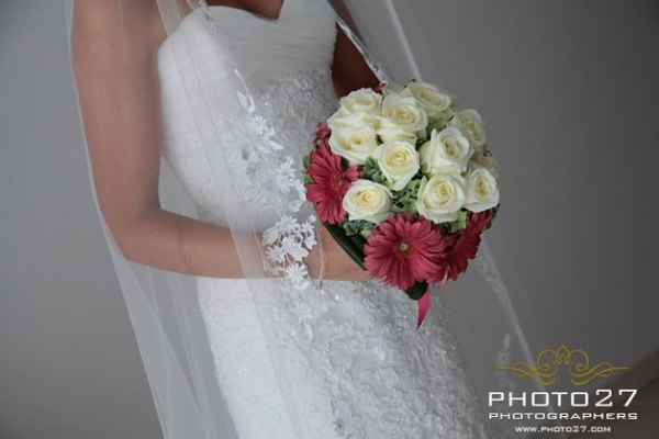 bouquet da sposa con gerbere