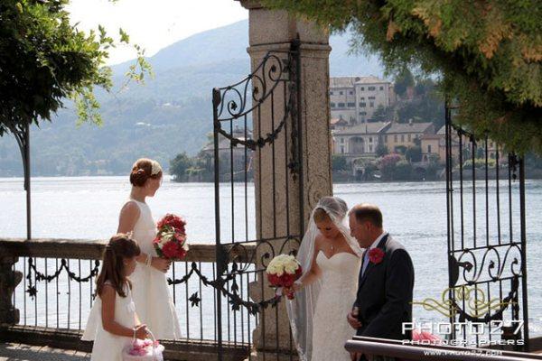 matrimonio a Villa Bossi