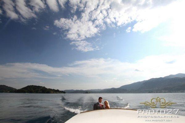 noleggio motoscafi matrimonio Lago d'Orta
