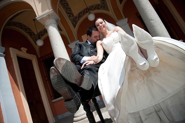fotografi matrimonio Villa Bossi