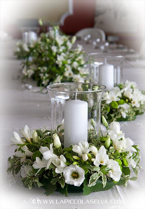 Fiori matrimonio orta stresa for Addobbi tavoli matrimonio con candele