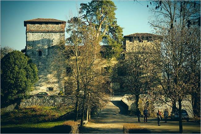 Matrimonio civile al castello visconteo del lago maggiore - Castelletto sul ticino ...