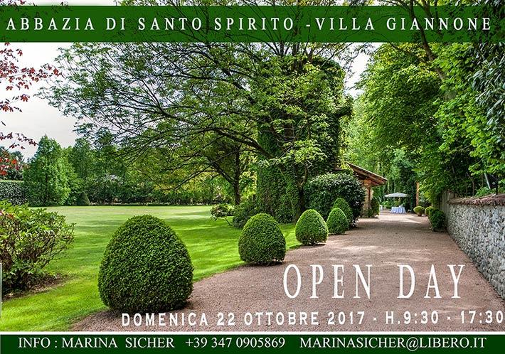 open_day_abbazia_santo_spirito_villa_giannone