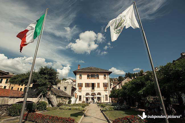 Matrimonio a Villa Bossi, Lago d'Orta © foto Independent Pictures