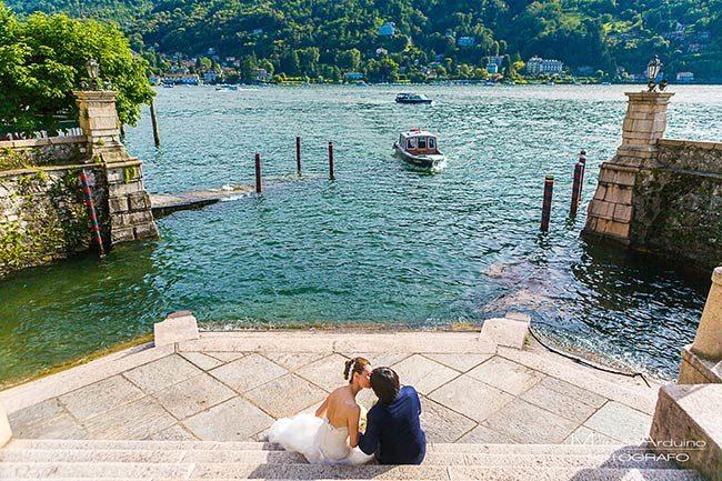 Matrimonio al Lago Maggiore © foto Marco Arduino