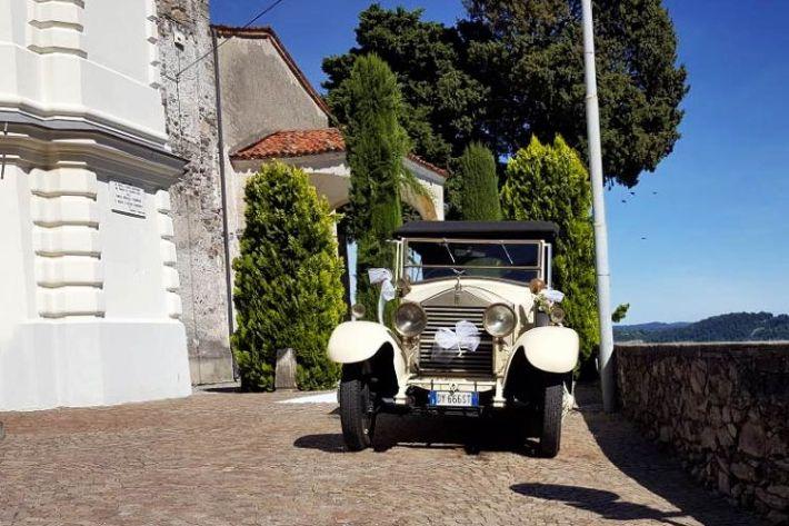 Noleggio auto d'epoca matrimonio Belgirate lago Maggiore